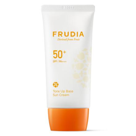Frudia, Солнцезащитный крем-основа SPF50+, 50 г chi luxury black seed oil curl defining cream gel