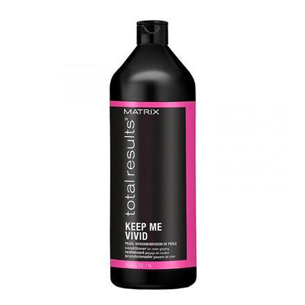 Matrix, Кондиционер Keep Me Vivid Total Results, 1000 млБальзамы для волос<br>Средство для сохранения яркости цвета и блеска волос.