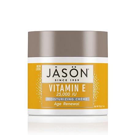 JASON, Крем для лица Vitamin E 25000 IU, 113 г