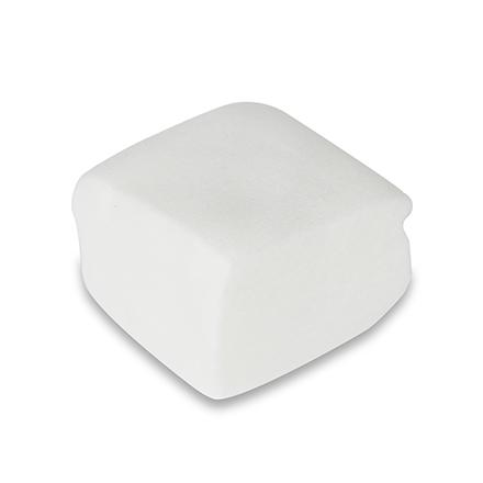 KrasotkaPro, Салфетка белая, 7х7 см, 100 шт.Аксессуары для мастера<br>Впитывающие салфетки из мягкого прочного спанлейса.<br>