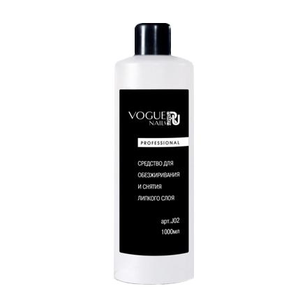 Купить Vogue Nails, Средство для обезжиривания и снятия липкого слоя, 1000 мл
