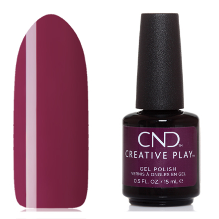 Купить CND, Creative Play Gel №476, Drama mama, CND (Creative Nail Design), Фиолетовый