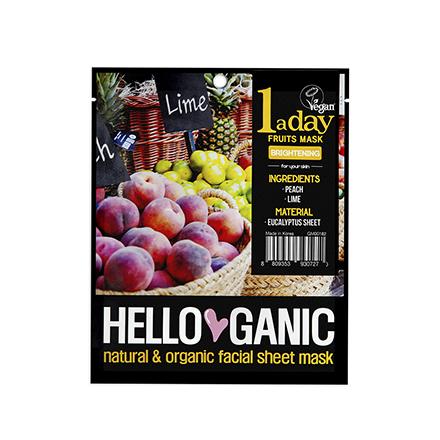 цена на HelloGanic, Фруктовая маска One a day, 40 г