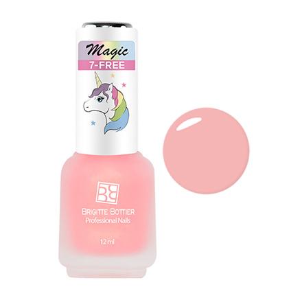 Brigitte Bottier, Лак для ногтей Magic №103Brigitte Bottier<br>Лак для ногтей (12 мл). Романтичный розовый.