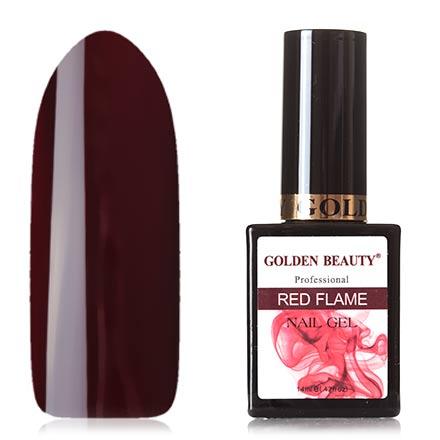 Bluesky, Гель-лак Golden Beauty Red Flame №11 bluesky гель лак golden beauty 66