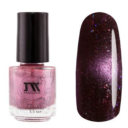 Купить Masura, Лак для ногтей №904-228M, Экзопланеты, 3, 5 мл, Фиолетовый
