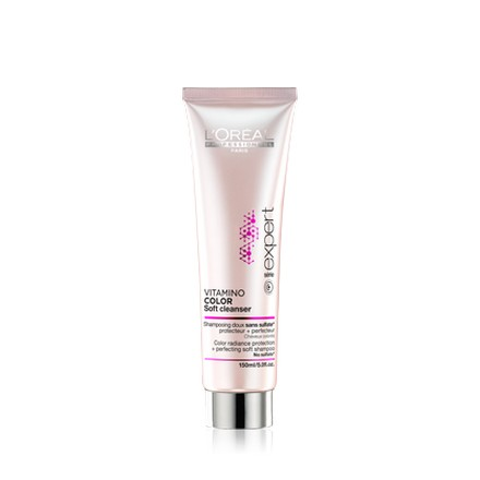 L'oreal, Serie Expert Vitamino Color Soft Cleanser Shampoo, Шампунь, 150 мл
