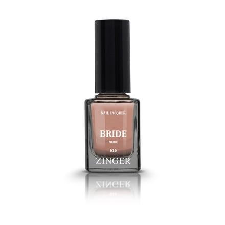Zinger, Лак для ногтей Bride, цвет Nude