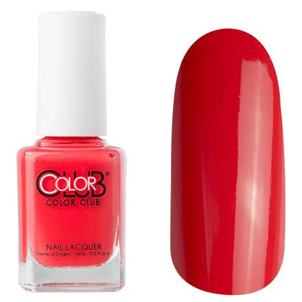 Color Club, цвет № 0795 Poker FaceColor Club<br>Профессиональный лак (15 ml) красно-оранжевый, без блесток и перламутра, плотный<br><br>Цвет: Оранжевый<br>Объем мл: 15.00