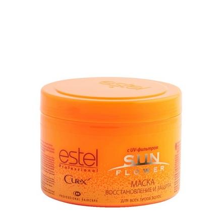 Estel, Маска Curex Sun Flower с UV-фильтром для всех типов волос, 500 мл