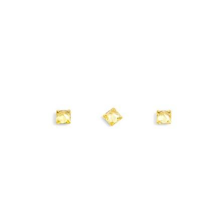 TNL, Кристаллы «Принцесса» №1, темно-желтые, 10 шт. tnl кристаллы овал 1 темно желтые 10 шт