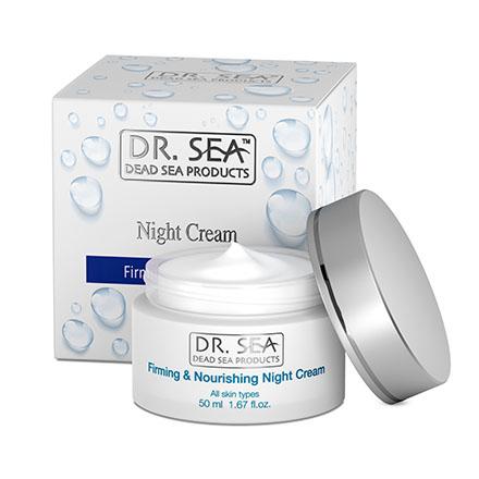 Купить DR.SEA, Ночной крем для лица Firming & Nourishing, 50 мл