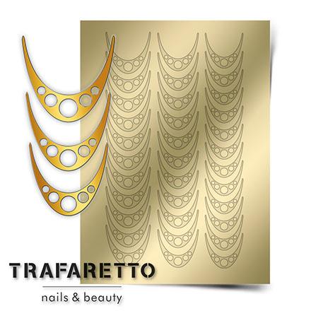 Купить Trafaretto, Металлизированные наклейки CL-05, золото