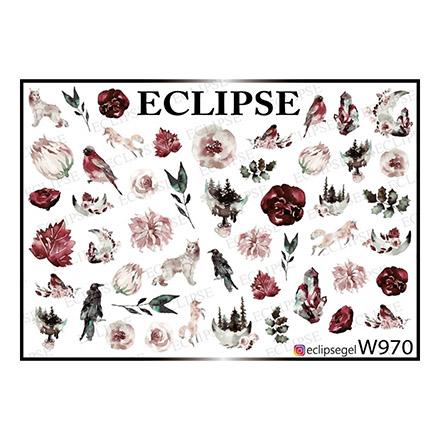 Купить Eclipse, Слайдер-дизайн для ногтей W №970