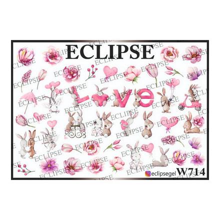 Купить Eclipse, Слайдер-дизайн для ногтей W №714