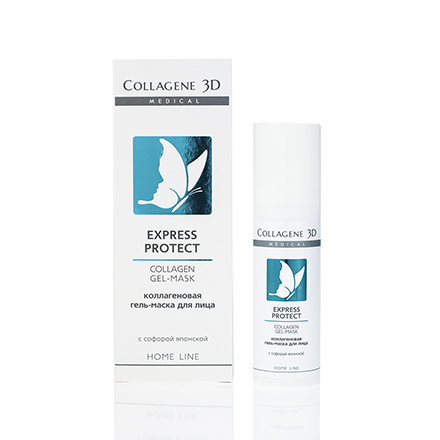 Купить Medical Collagen 3D, Гель-маска для лица Express Protect, 30 мл, Medical Collagene 3D