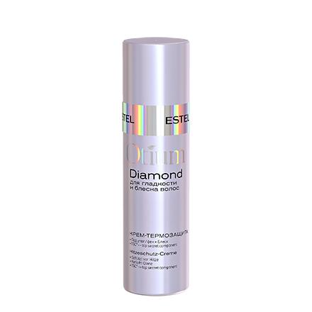 Estel, Крем-термозащита Otium Diamond, для гладкости и блеска волос, 100 млКрем для укладки волос <br>Легкий крем для укладки защищает волосы от термического воздействия, придает им здоровый блеск.<br><br>Объем мл: 100.00