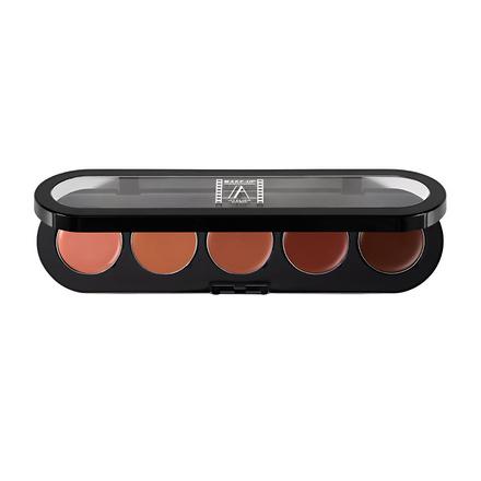 Купить Make-up Atelier Paris, Палитра блесков и помад для губ, бежево-розовая