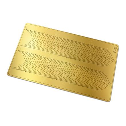 Купить Freedecor, Металлизированные наклейки №103, золото
