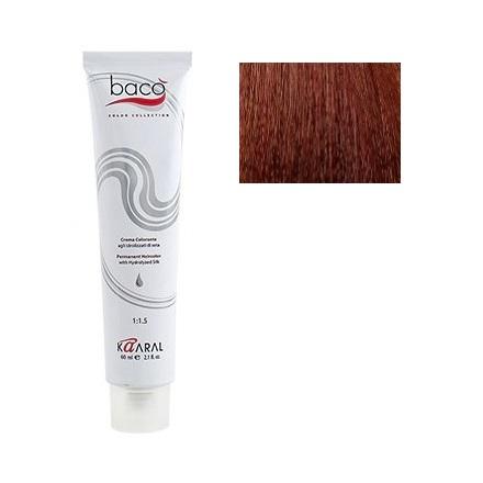 Kaaral, Крем-краска для волос Baco B7.42Краска для волос<br>Цвет: медно-фиолетовый блондин. Объем: 100 мл.