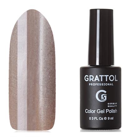 Grattol, Гель-лак Crystal №002, SilverGrattol<br>Магнитный гель-лак (9 мл) на прозрачной подложке серебристого цвета, с сребряными микроблестками, полупрозрачный.