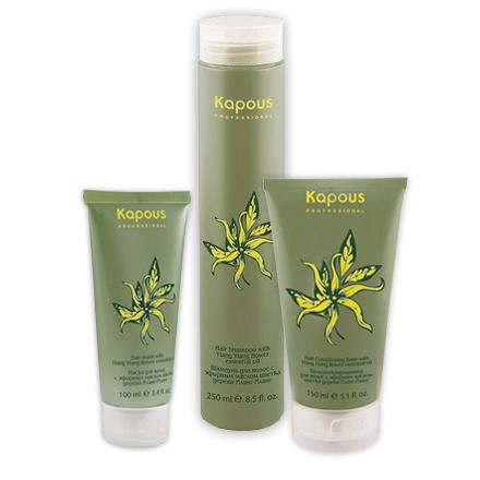 Kapous, Набор для восстановления волос с маслом Иланг-Иланг kapous professional бальзам кондиционер для волос иланг иланг