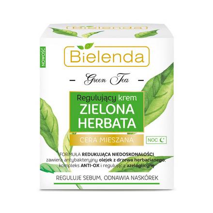Купить Bielenda, Ночной крем для лица Green Tea, 50 мл