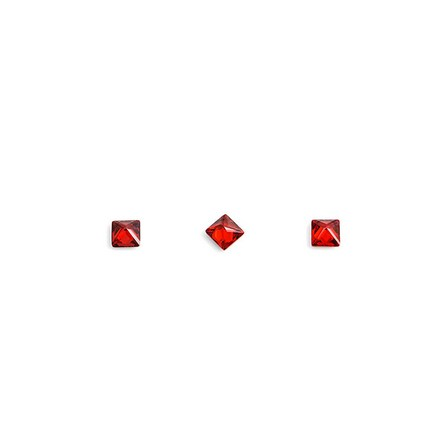 Купить TNL, Кристаллы «Принцесса» №1, рубиновые, 10 шт., TNL Professional