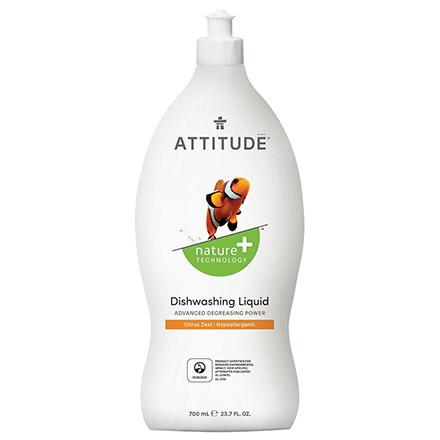 Купить ATTITUDE, Средство для мытья посуды Citrus Zest, 700 мл
