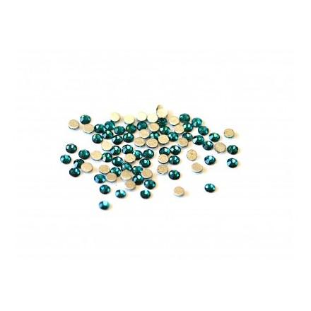 Купить TNL, Стразы 1, 8 мм морская волна, 50 шт., TNL Professional