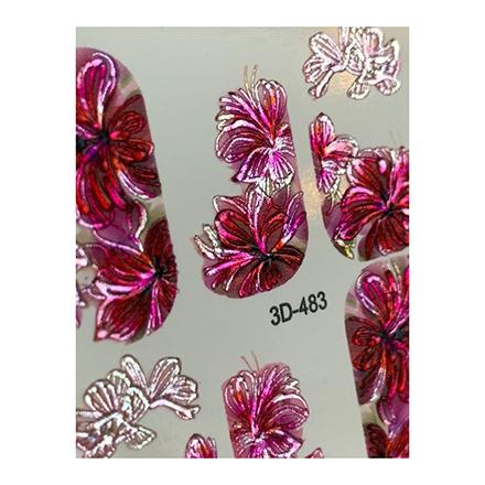 AnnaTkacheva,3D-слайдерCrystal№483 «Цветы. Цветочки» фото