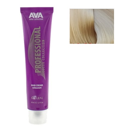 Kaaral, Крем-краска для волос AAA 10.031Краска для волос<br>Цвет: очень-очень светлый золотисто-перламутровый блондин натуральный. Объем: 60 мл.