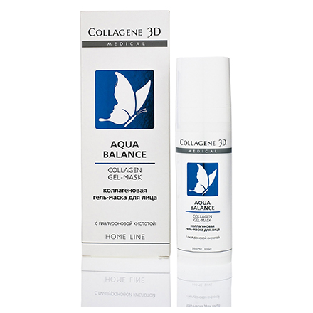 Купить Medical Collagen 3D, Гель-маска для лица Aqua Balance, 30 мл, Medical Collagene 3D