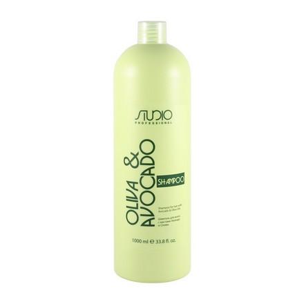 Kapous, Шампунь с маслами авокадо и оливы, 1000 мл kapous