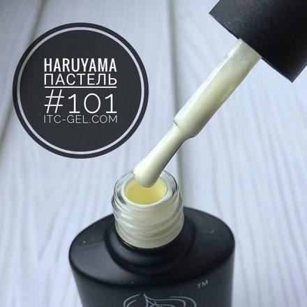 Haruyama, Гель-лак «Пастель» №101Haruyama<br>Гель-лак (8 мл). Пастельно-лимонный оттенок, без перламутра и блесток.