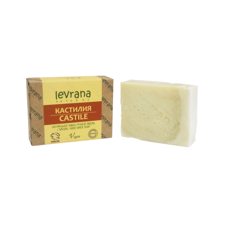 Купить Levrana, Натуральное мыло «Кастилия», 100 г