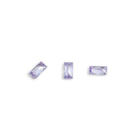 Купить TNL, Кристаллы «Багет» №2, сиреневые, 10 шт., TNL Professional