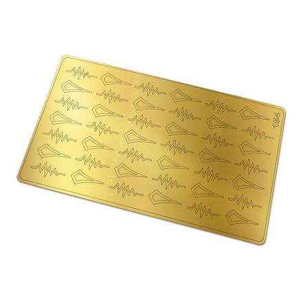 Купить Freedecor, Металлизированные наклейки №154, золото