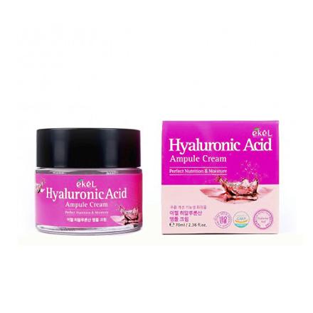 Купить EKEL, Крем ампульный для лица Hyaluronic Acid, 70 мл