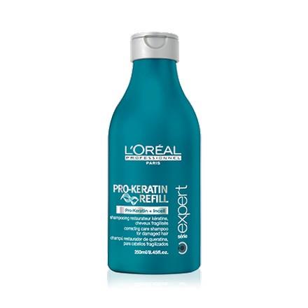 Loreal Professionnel, Serie Expert Pro-Keratin Refill Shampoo, Шампунь, 250 мл (LOreal (Лореаль))