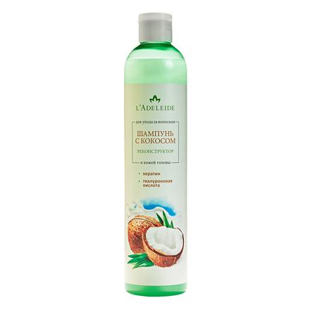 Купить L'Adeleide, Шампунь с кокосом для волос, 350 мл