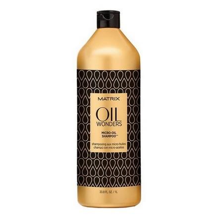 Matrix, Oil Wonders, 1000 млШампуни для волос<br>Легкий шампунь с микро-каплями Марокканского арганового масла. Нежно очищает и питает волосы, одновременно делая их мягкими и блестящими.