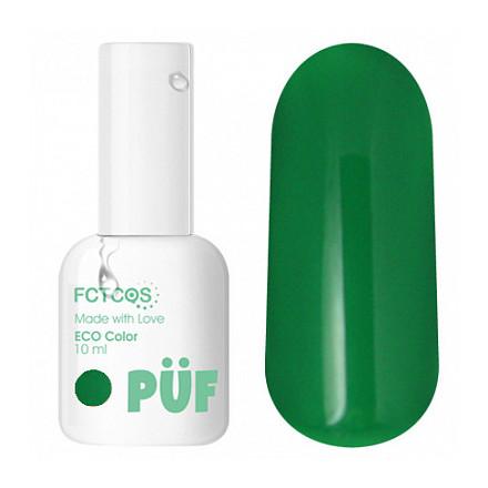Puf, Гель-лак Eco №017, PÜF, Зеленый  - Купить