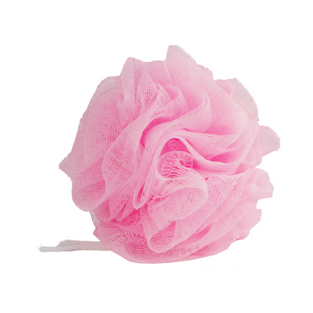 Купить Dewal, Мочалка для тела, розовая
