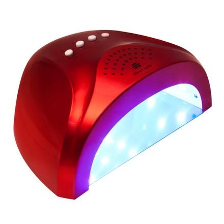 Planet Nails, LED/УФ лампа 24/48W «Sunlight», красная