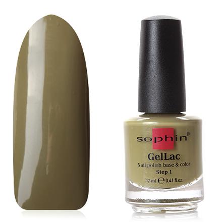 Купить Sophin, Гель-лак для ногтей 2 в 1 без использования УФ лампы, №0658, Зеленый