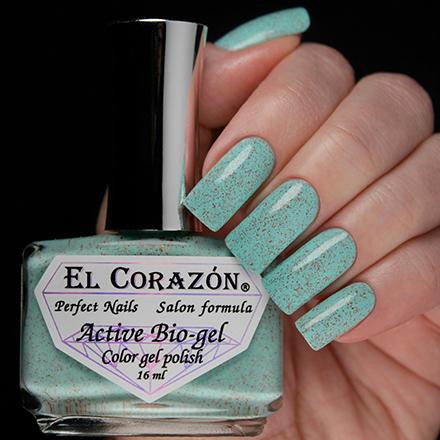 Купить El Corazon, Активный биогель Autumn Dreams №423/1025, Зеленый