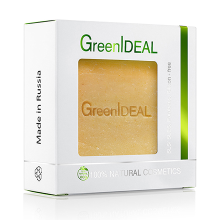 Купить GreenIDEAL, Мыло ручной работы «Лимон», 100 г