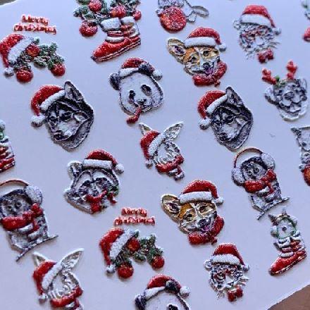 Купить Anna Tkacheva, 3D-слайдер №775 «Новый год. Животные»