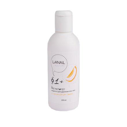 Lianail, Жидкость для снятия гель-лака Дыня, 200 мл